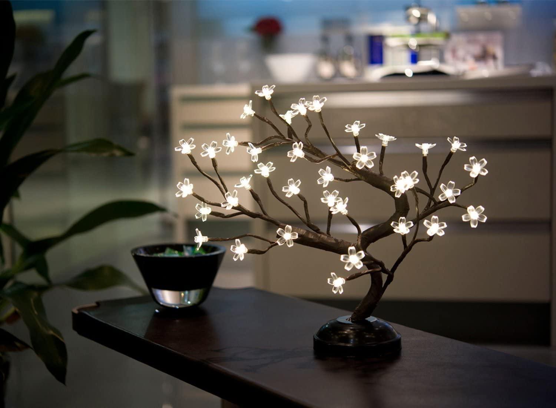 LIGHTSHARE Cherry Blossom Bonsai Light, best gifts for mom