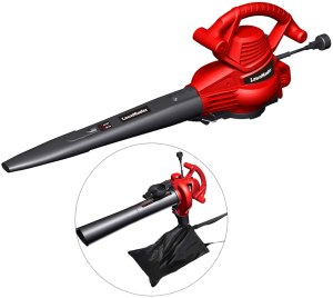 lawnmaster red edition leaf vacuum