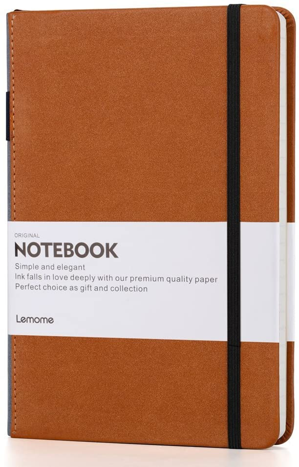 Lemome Thick Classic Vegan Leather Notebook