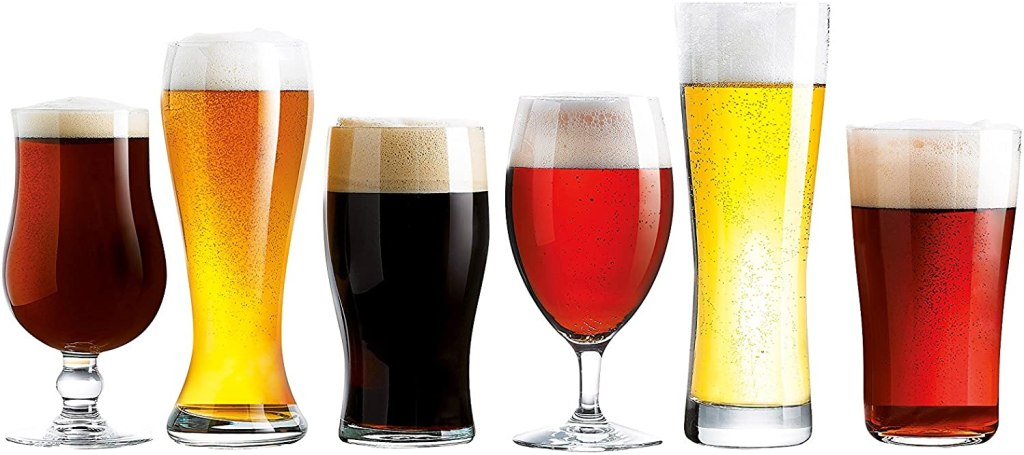 beer glasses luminarc