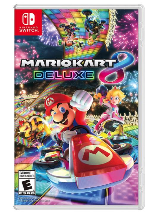 mario kart deluxe 8, multiplayer switch games