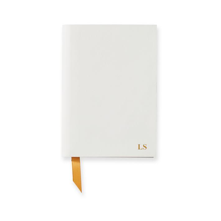 Mark & Graham Italian Leather Notebook