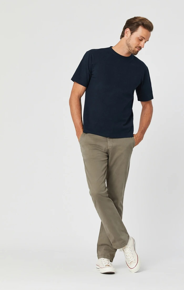 Mavi soft olive chino khaki pants