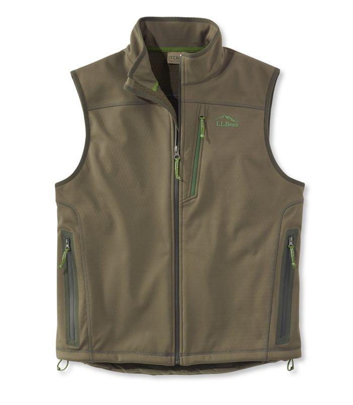 Men's Ridge Runner Soft-Shell Vest by LL Bean