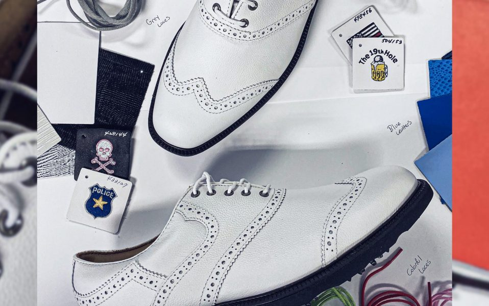 FootJoy MyJoy Bespoke golf shoes