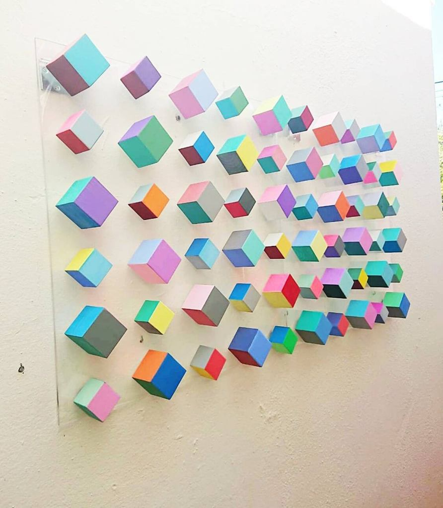 Natswood Art Cube Art