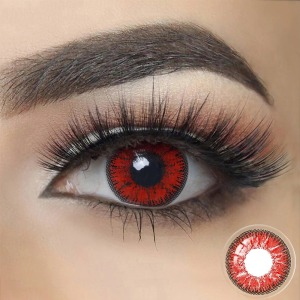 FreshGo NONNO Deep Red Contacts