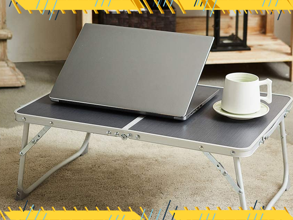 Get Behind the Working from Bed Trend with a Laptop Stand Designed for That Purpose