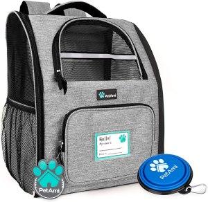 dog backpack carrier petami