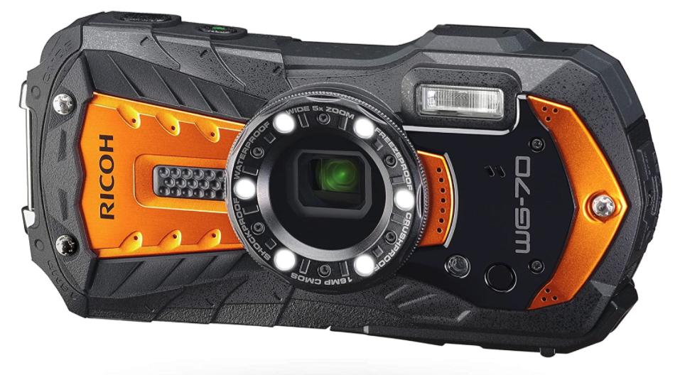 ricoh wg-70 underwater camera