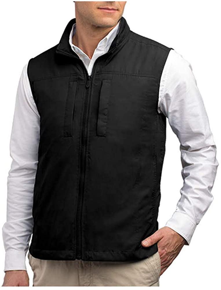 black 18 pocket vest from scottevest