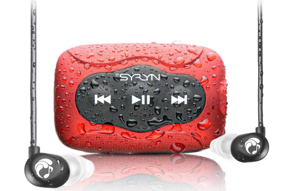 syryn waterproof mp3 player