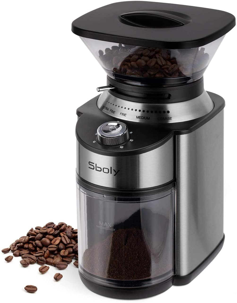 Sboly conical burr coffee greinder