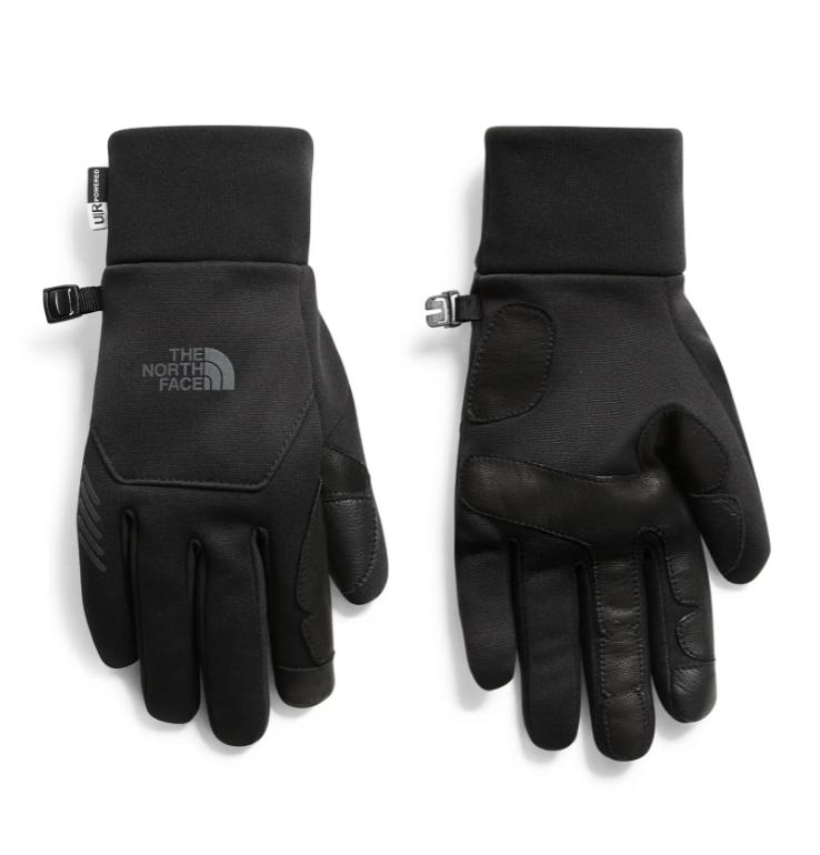 black north face gloves