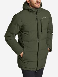 Eddie Bauer glacier peak down parka, puffer jacket
