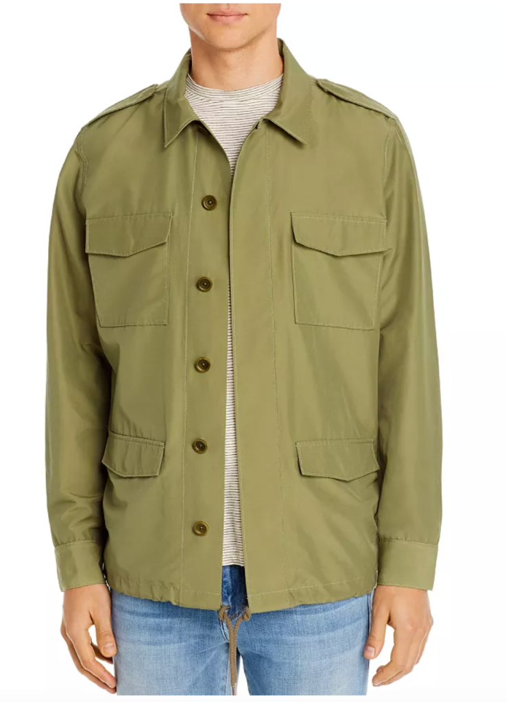 FRAME Military Regular Fit Shirt Jacket