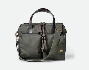 Huckberry dryden nylon briefcase, briefcase for lawyers
