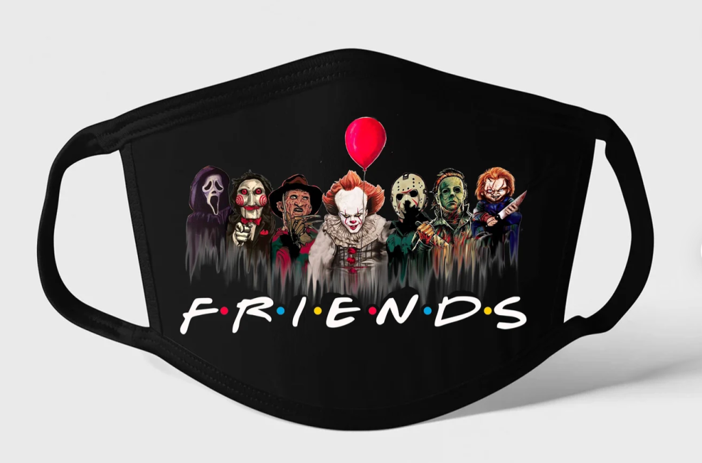 Halloween Friends Mask
