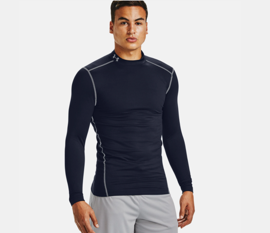 Men's UA ColdGear Armour Compression Mock