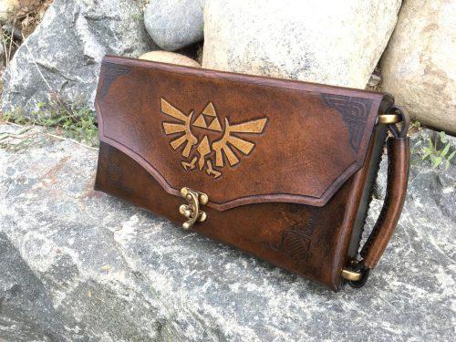 SkinzNhydez Leather Nintendo Switch Case
