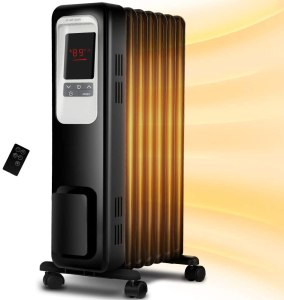 best space heaters aireplus oil filled radiator electric