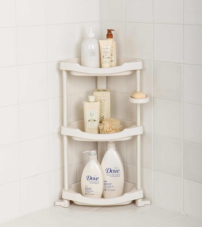 Tenby living corner shower caddy