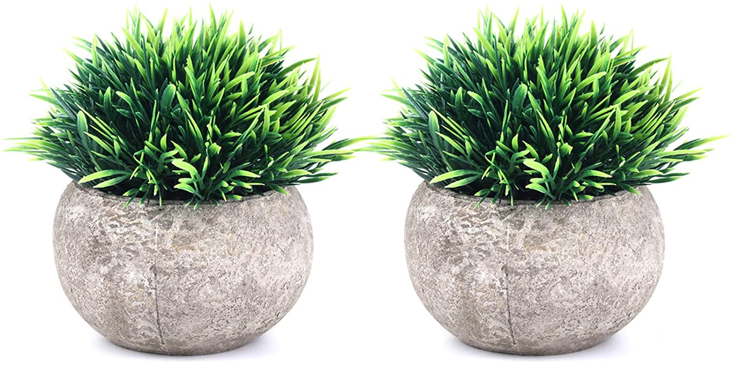 The Bloom Times 2 Pcs Fake Plants, Best Gifts Under $20