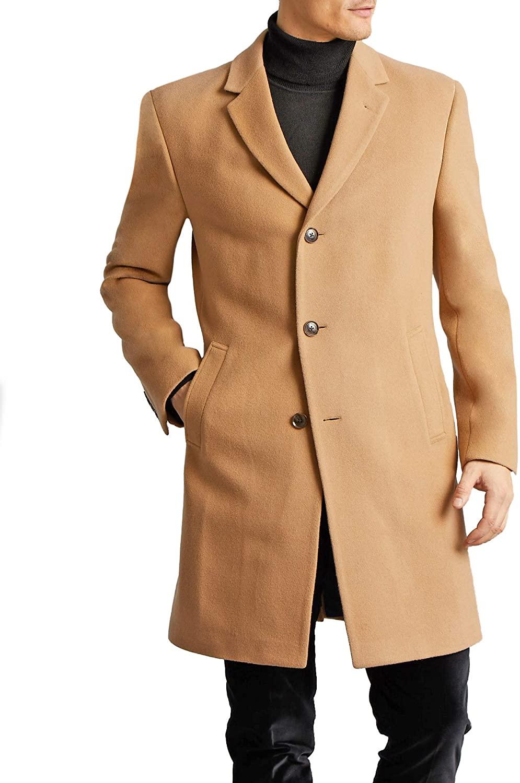 tommy hilfiger beige topcoat