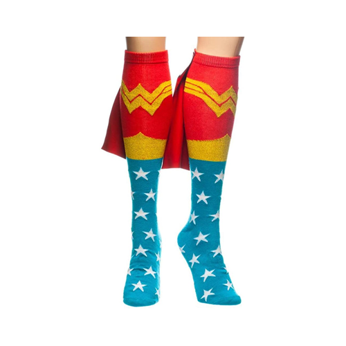 TV Store Wonder Woman Knee High Cape Sock