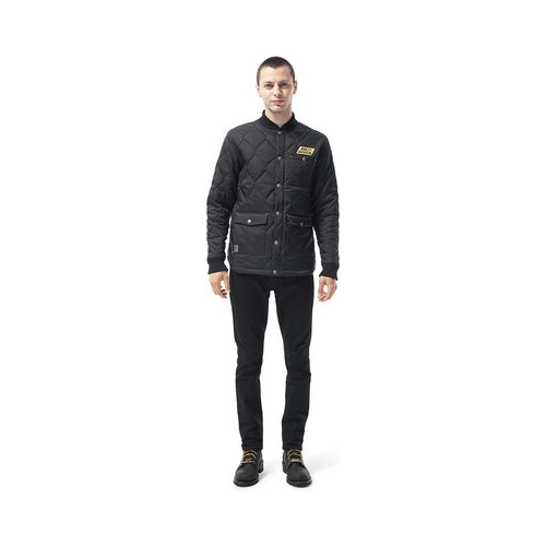 harley davidson black quilted jacket