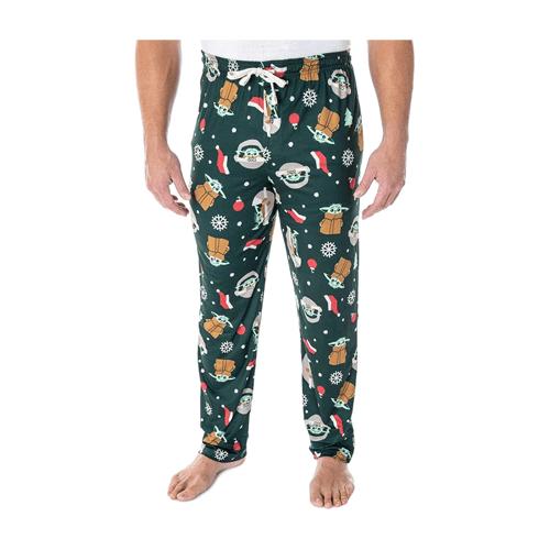 Star Wars Men's Baby Yoda Pajama Pants