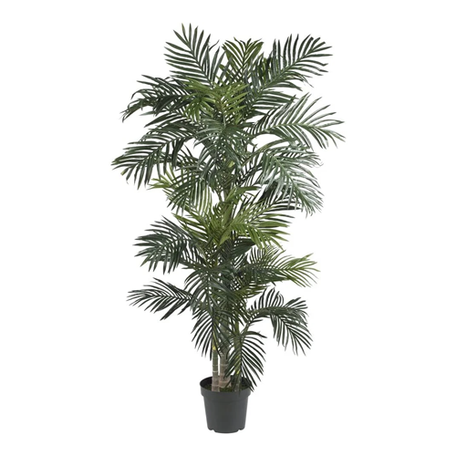 Nearly Natural 5289 6.5ft. Golden Cane Palm Silk Tree