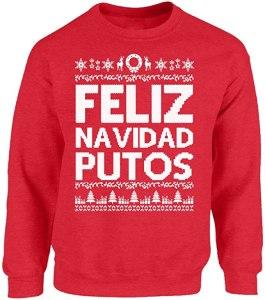 funny christmas sweaters vizor
