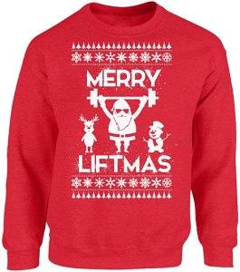 Merry Liftmas Funny Ugly Christmas Sweater