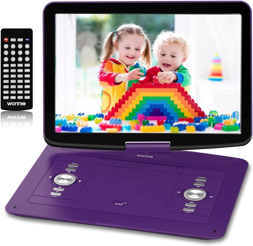 WONNIE Portable DVD/CD Player