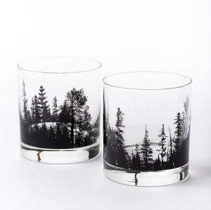 best whiskey glasses black lantern
