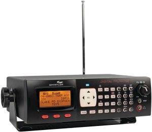 Whistler WS1065 Desktop Digital Police Scanner