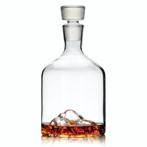 Whiskey Peaks Mountain Decanters