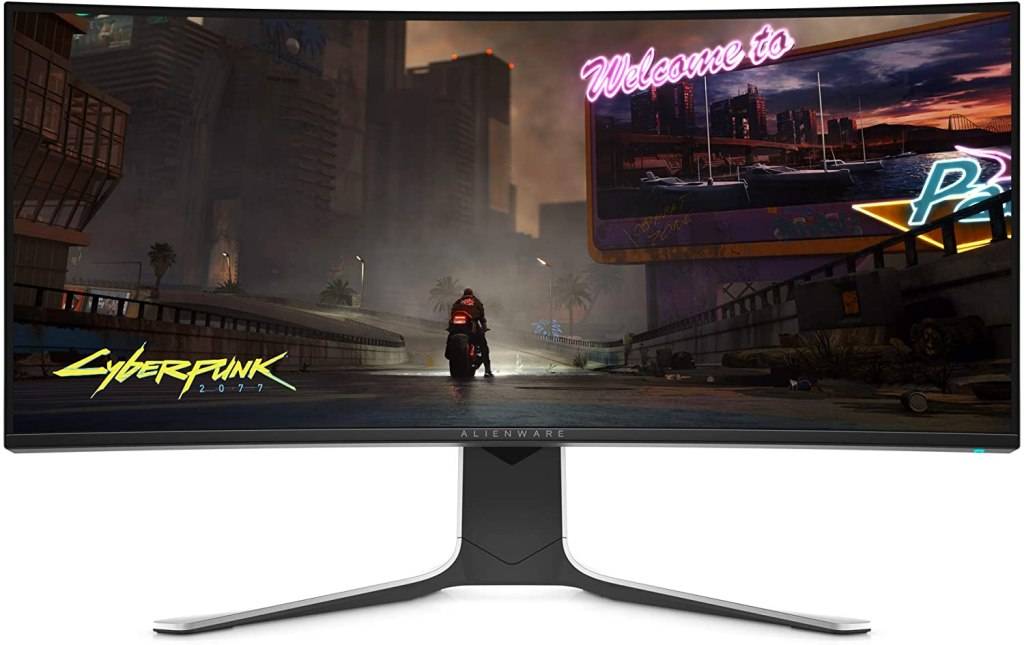 alienware 34-INCH CURVED MONITOR - best prime day tech deals for gamers