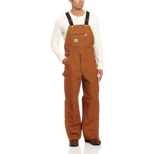 Carhartt Zip To Thigh Bib Overall Unlined R37