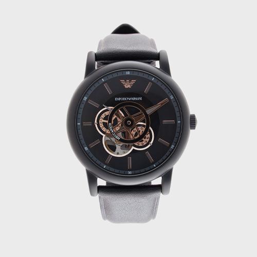 Emporio Armani Skeleton Automatic Watch