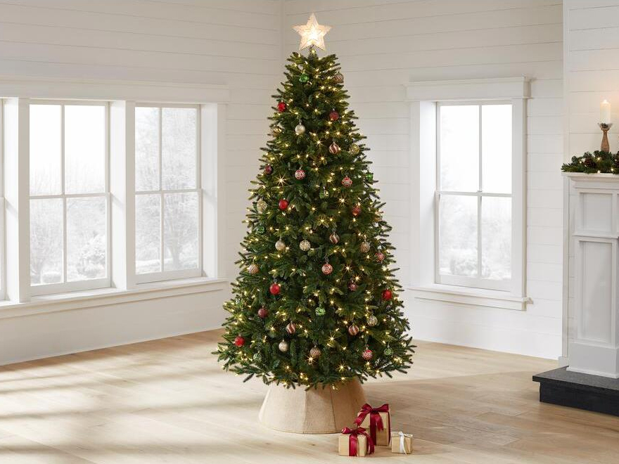 artificial christmas trees, home accents