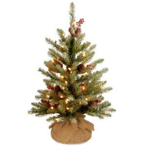 Dunhill Fir 2' Green Artificial Christmas Tree