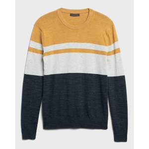Banana Republic Organic Cotton Stripe Sweater