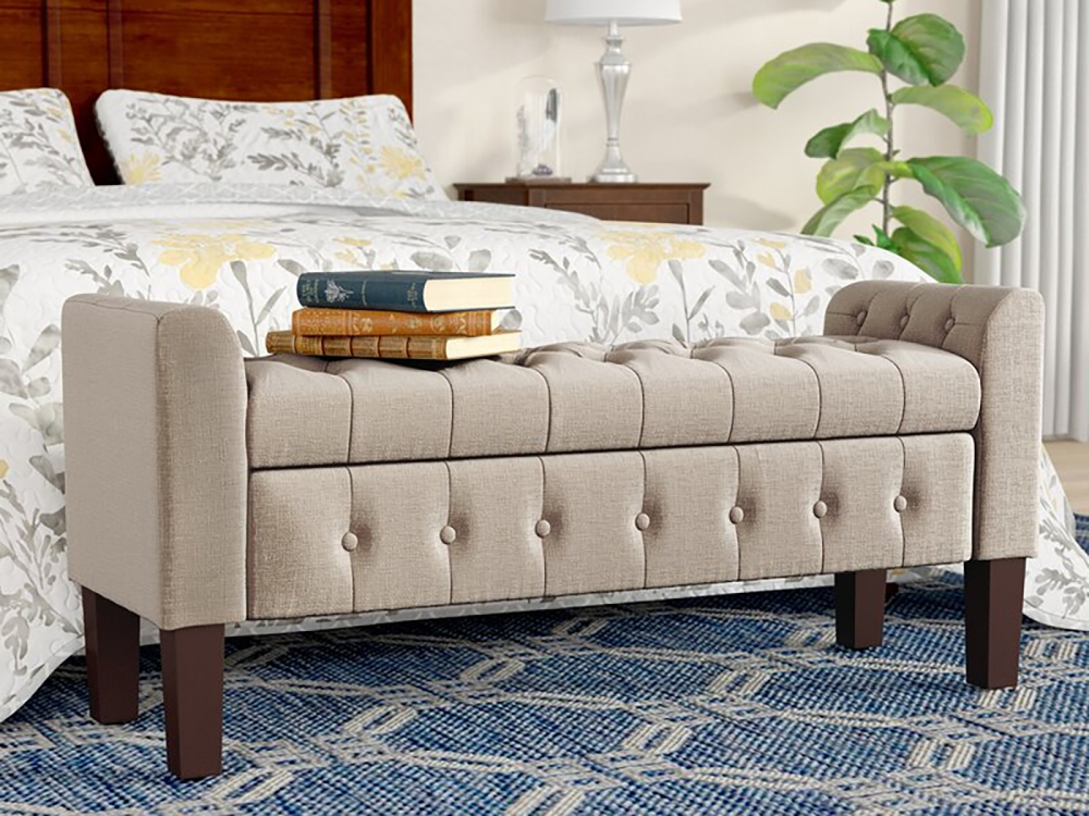 15 Bedroom Storage Benches That Ll Help You Declutter And Decorate Spy