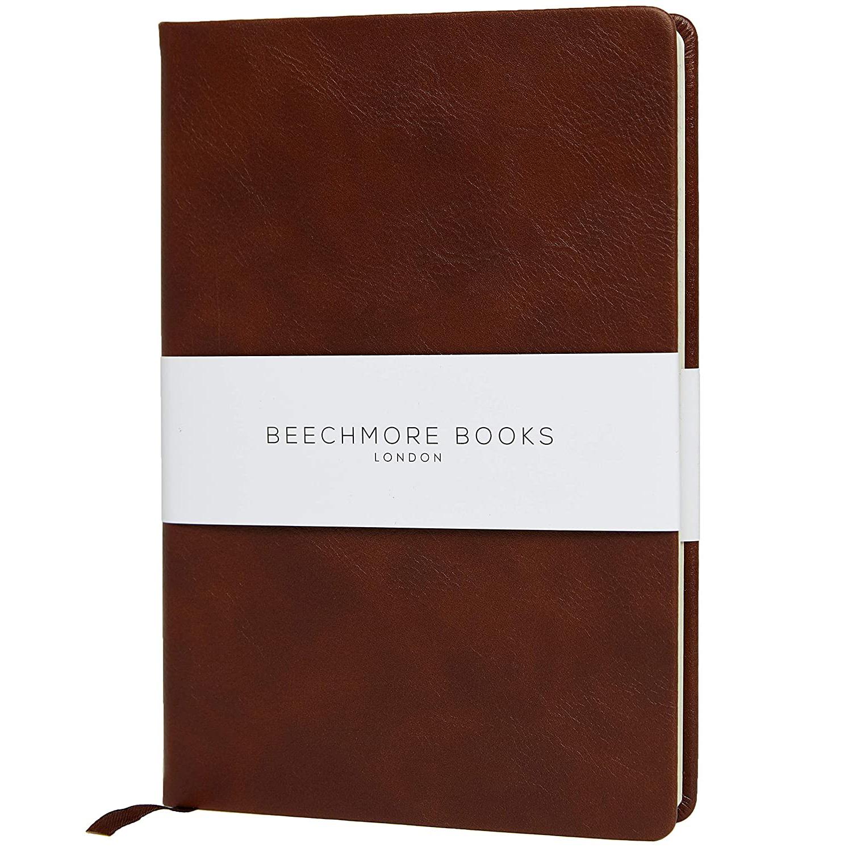 Beechmore Ruled Vegan Leather Notebook
