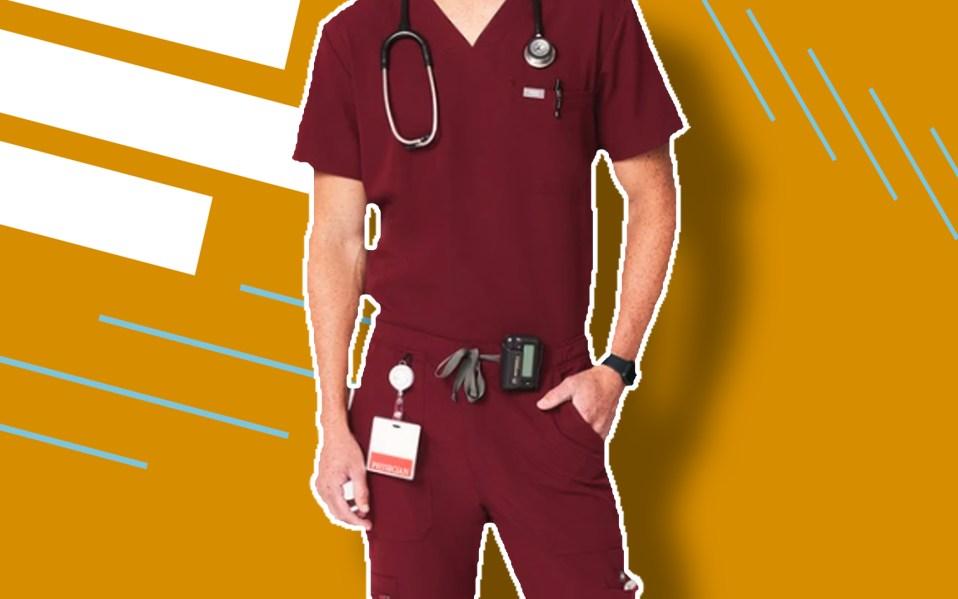 best men's scrubs featured image
