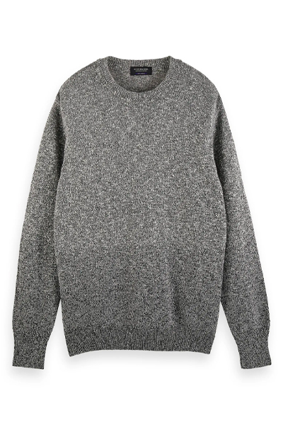 best men's sweaters to give as gifts - Scotch & Soda Gradient Crewneck Sweater