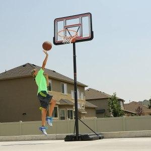 lifetime portable basketball system, best basketball hoops