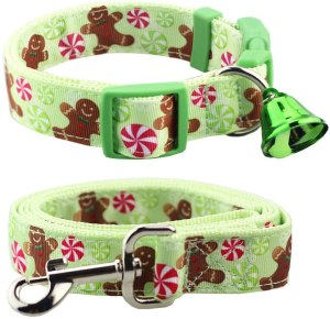 festive Christmas dog collar, gifts for dog lovers
